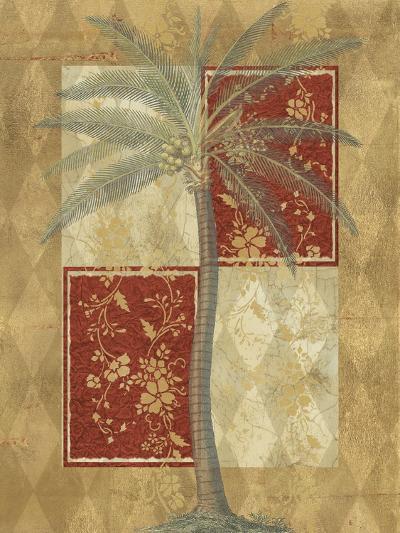 Harlequin Coconut Palm--Art Print