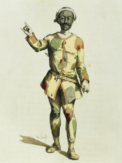 Harlequin in 1570-Maurice Sand-Giclee Print