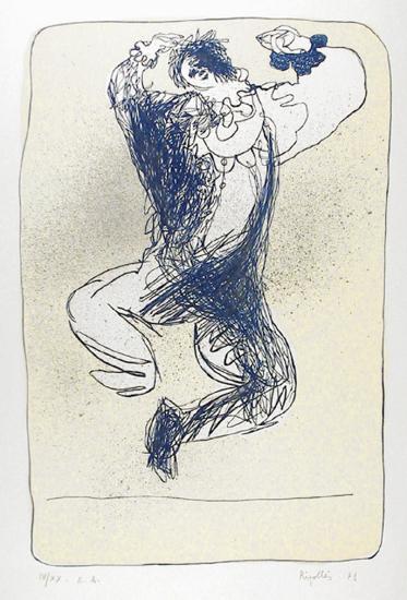 Harlequin Leaping-Juan Garcia Ripolles-Collectable Print