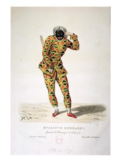 Harlequin-French School-Giclee Print
