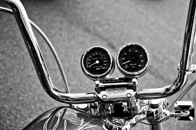 Harley Davidson Handlebars--Photo