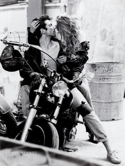 Harley Davidson-Frank Schott-Art Print