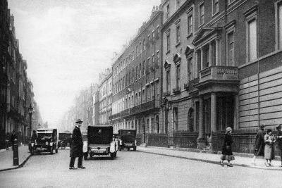 Harley Street, London, 1926-1927- Whiffin-Giclee Print