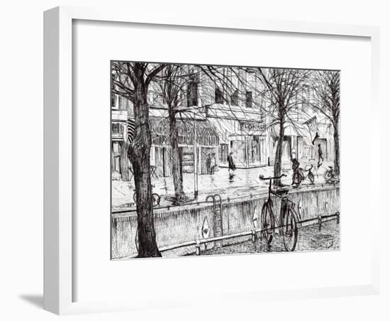 Harlingen Holland, 2005-Vincent Alexander Booth-Framed Giclee Print