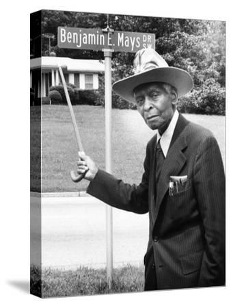 Dr. Benjamin E. Mays - 1981