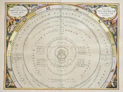 Harmonia Macrocosmica-Andreas Cellarius-Giclee Print
