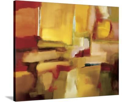 Harmonies of Space-Nancy Ortenstone-Stretched Canvas Print