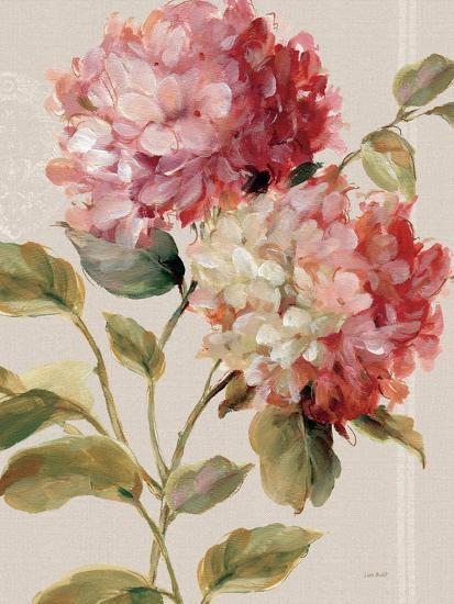 Harmonious Hydrangeas Linen-Lisa Audit-Art Print