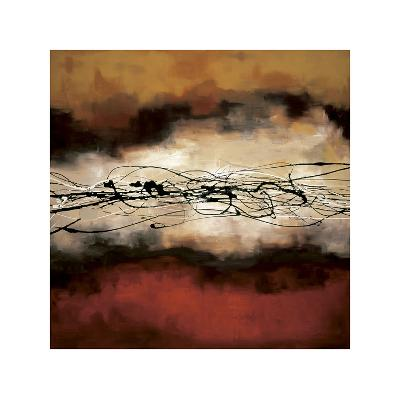 Harmony in Red and Ochre-Laurie Maitland-Giclee Print