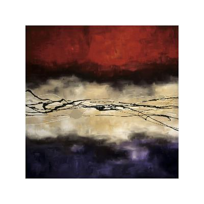 Harmony in Red and Violet-Laurie Maitland-Giclee Print