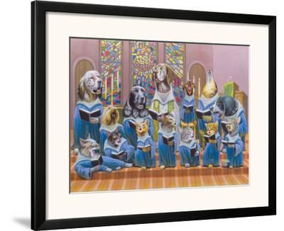 Harmony-Bryan Moon-Framed Giclee Print