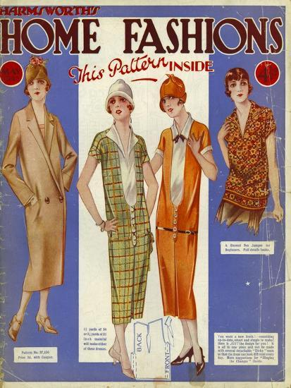 Harmsworth S Home Fashion Womens Magazine Uk 1925 Giclee Print By Art
