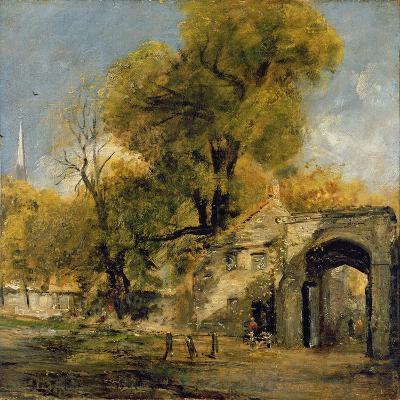 Harnham Gate, Salisbury, c.1820-21-John Constable-Giclee Print