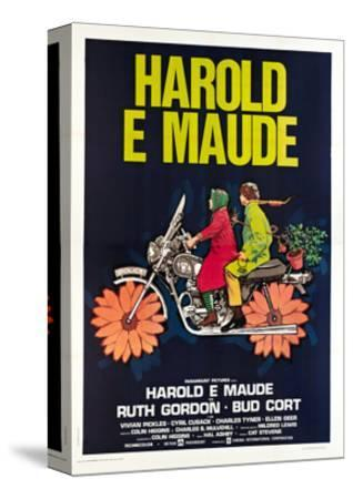 Harold and Maude, Italian poster, Ruth Gordon, Bud Cort, 1971