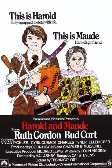 Harold and Maude--Art Print
