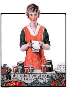"""Pleasant View Farms,""July 11, 1925 by Harold Brett"