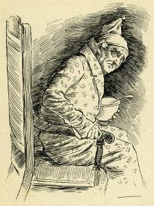 'A Christmas Carol' by Charles Dickes by Harold Copping