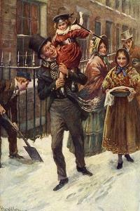 Charles Dickens 's 'A Christmas Carol' by Harold Copping