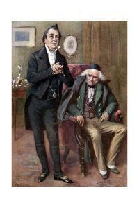 Charles Dickens 's 'Martin Chuzzlewit' by Harold Copping