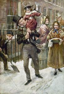 Dickens: A Christmas Carol by Harold Copping