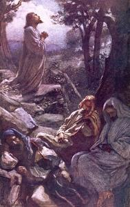 Gethsemane by Harold Copping