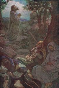 Gethsemanie by Harold Copping