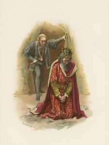 Hamlet and the King by Harold Copping