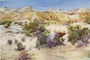 Judean desert in the Holy Land c1910 by Harold Copping