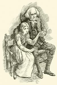 Little Nell and Her Grandfather by Harold Copping