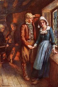 Longfellow- Evangeline, A Tale of Acadie by Harold Copping