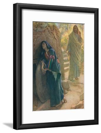 Mary Magdalene, Illustration from 'Women of the Bible', Published by the Religious Tract Society,…