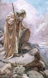 Moses on Pisgah by Harold Copping