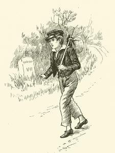 Oliver Twist, on This Way to London by Harold Copping
