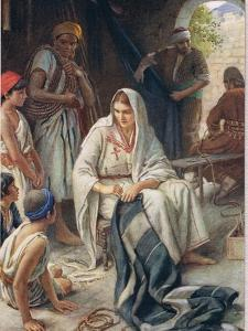 Priscilla, Illustration from 'Women of the Bible', Published by the Religious Tract Society, 1927 by Harold Copping
