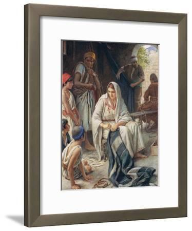 Priscilla, Illustration from 'Women of the Bible', Published by the Religious Tract Society, 1927