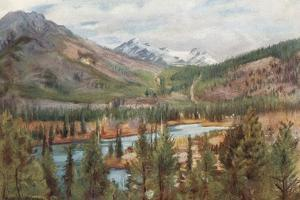 The Bow River at Banff by Harold Copping