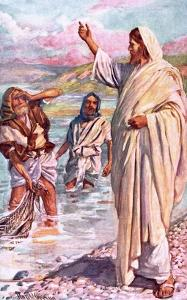 The Call of Andrew and Peter by Harold Copping