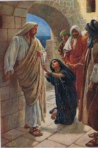 The Woman of Canaan, Illustration from 'Women of the Bible', Published by the Religious Tract… by Harold Copping