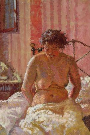 Nude in an Interior, c.1911 by Harold Gilman