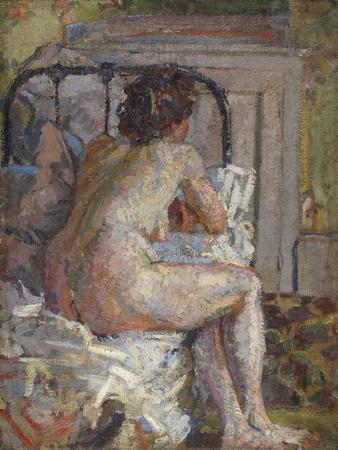 Nude on a Bed, c.1914