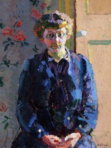 Portrait of Sylvia Gosse, 1912 by Harold Gilman