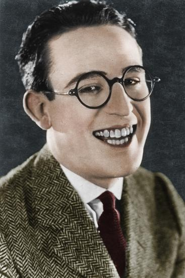 Harold Lloyd (1893-1971), American actor and filmmaker, c1920s-Unknown-Photographic Print