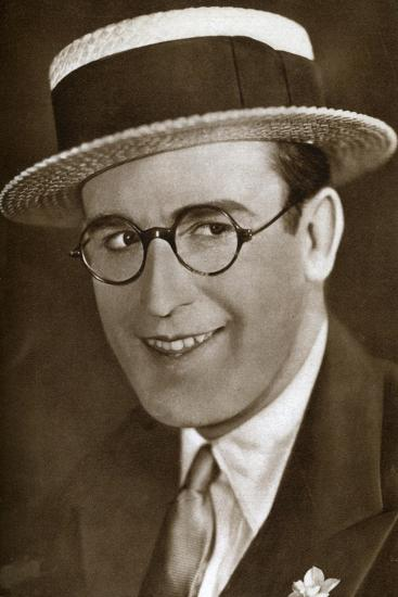 Harold Lloyd, American Actor and Film Maker, 1933--Giclee Print