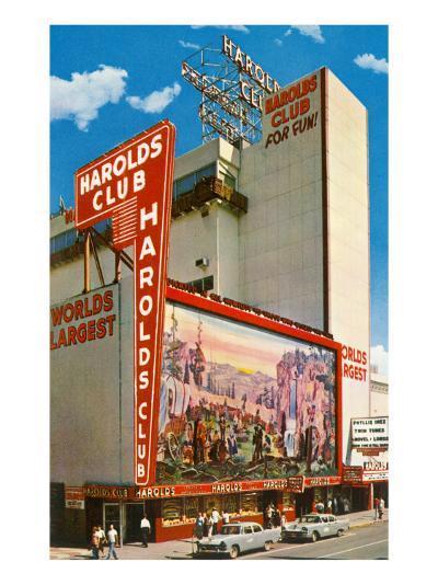 Harold's Club, Reno, Nevada--Art Print