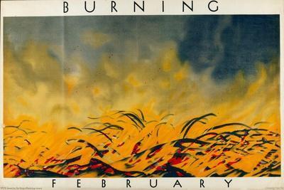 February - Burning