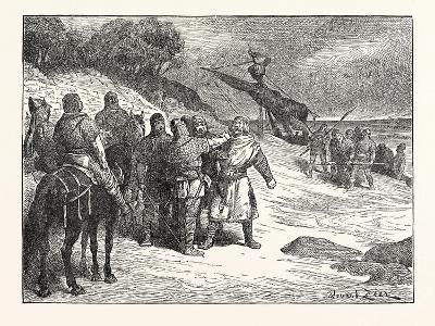 Harold Taken Prisoner by the Count of Ponthieu--Giclee Print