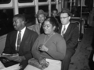 MLK Abernathy Ride Bus 1956 by Harold Valentine