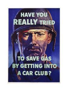 Have You Really Tried to Save Gas by Getting into a Car Club? by Harold Van Schmidt