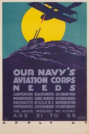 Our Navy's Aviation Corps Needs by Harold Von Schmidt