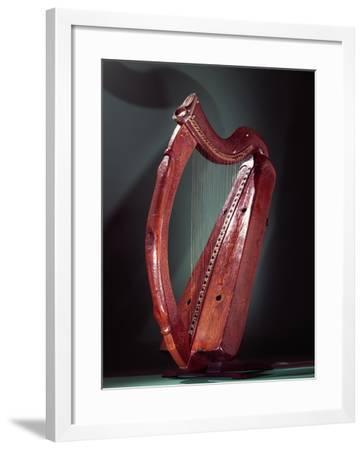 Harp- Celtic-Framed Giclee Print